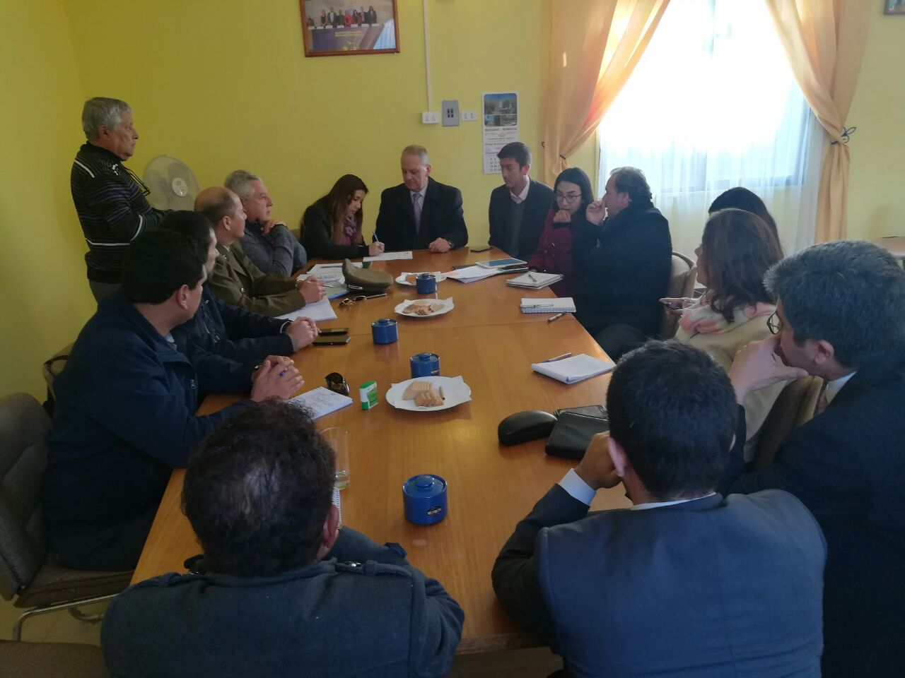 Se constituye consejo comunal de seguridad pública en Alto del Carmen