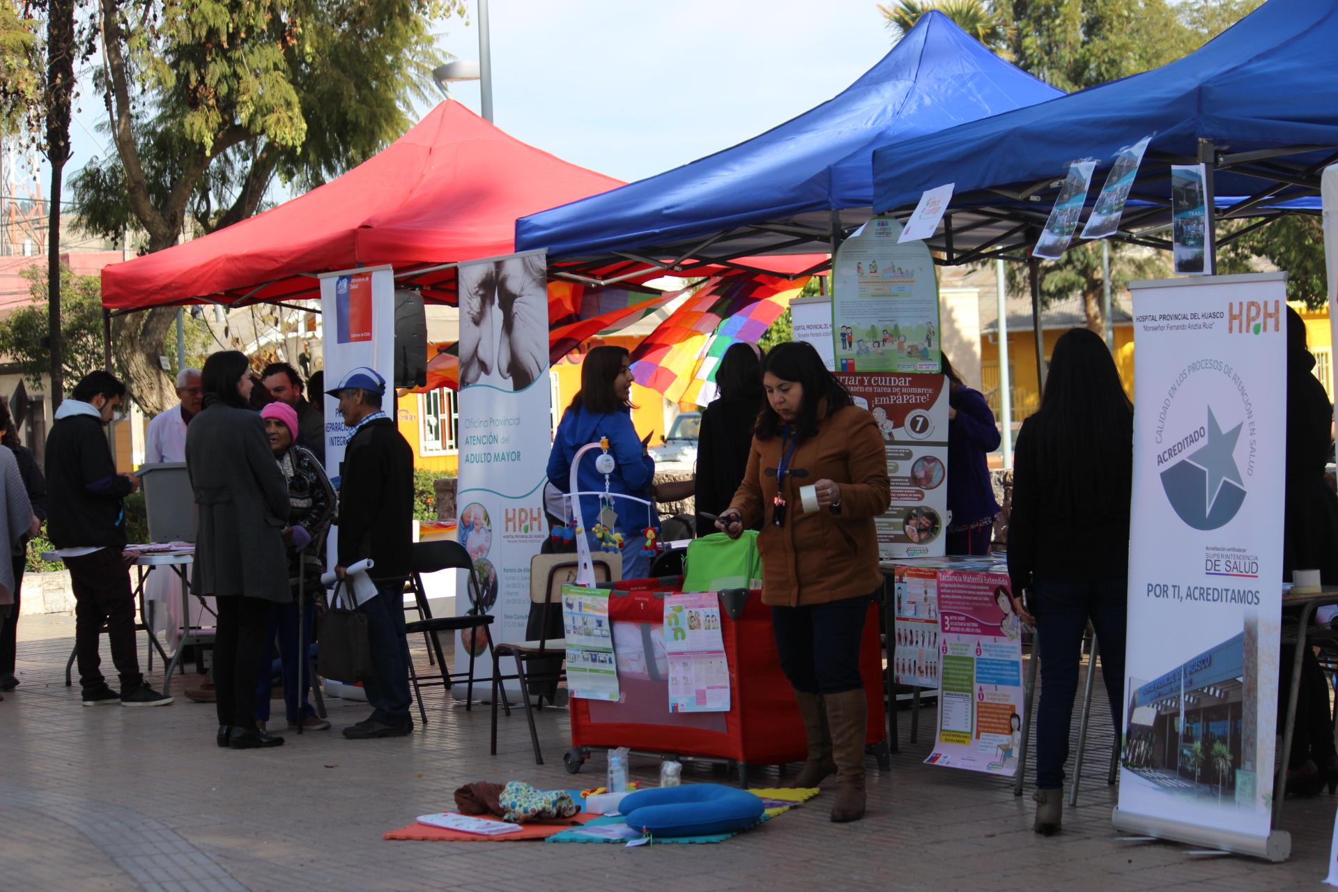 Hospital Provincial del Huasco presentó feria hospitalaria en Vallenar
