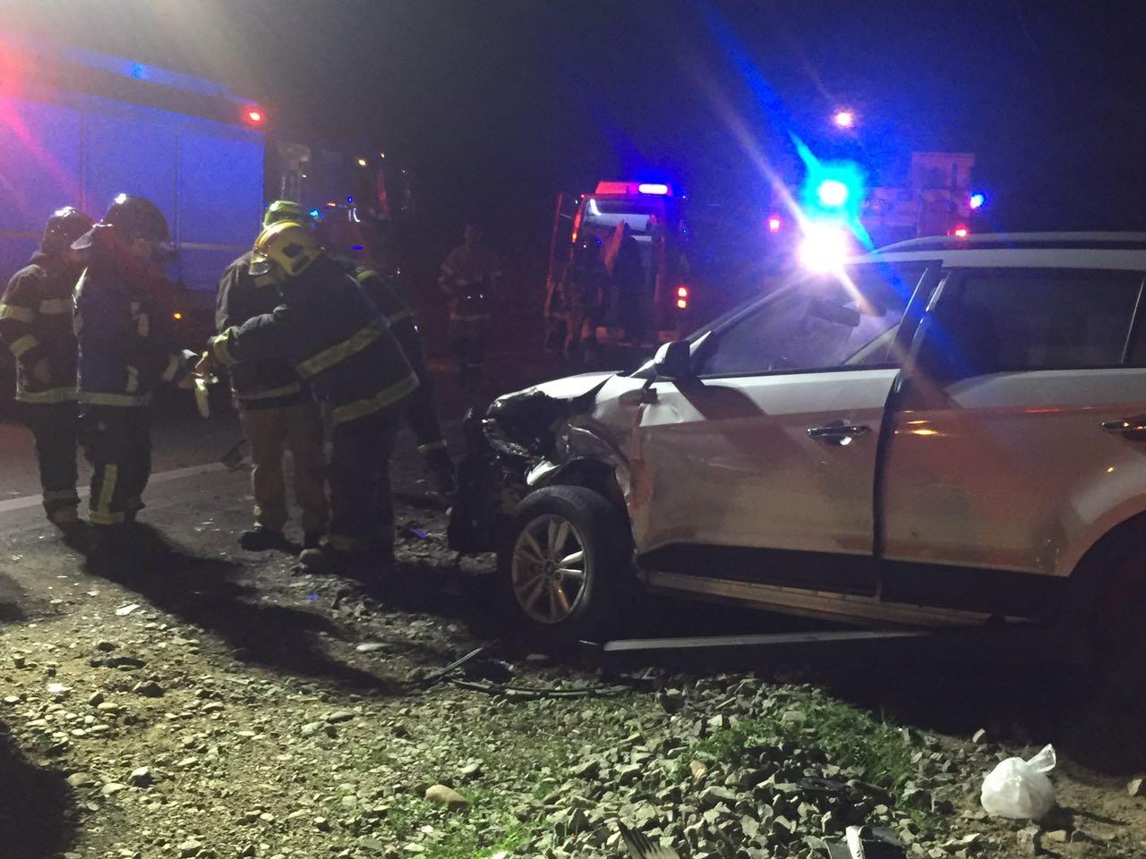 Accidente en Vallenar dejó siete lesionados