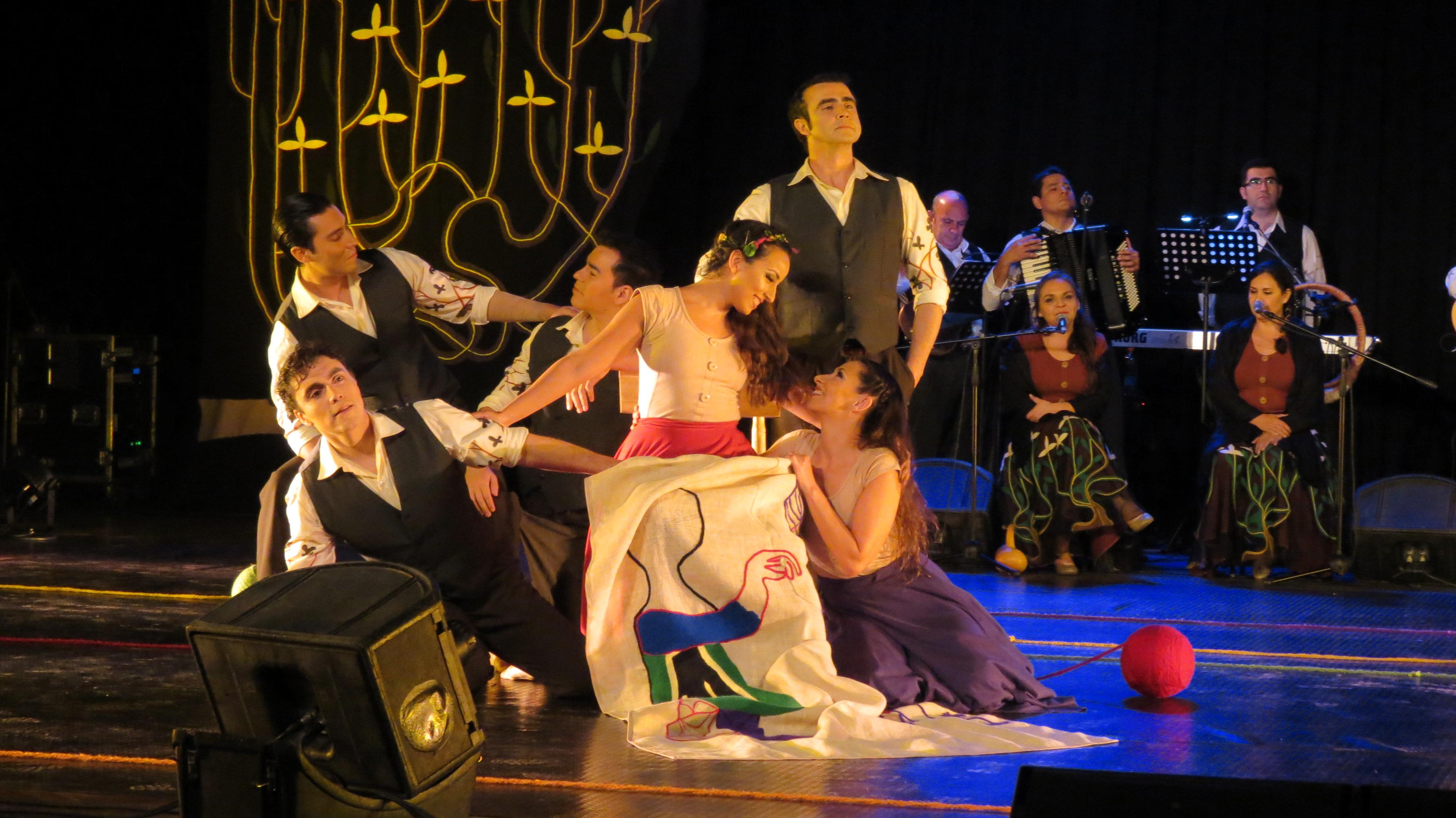 Brillante Presentación del Bafona en Vallenar