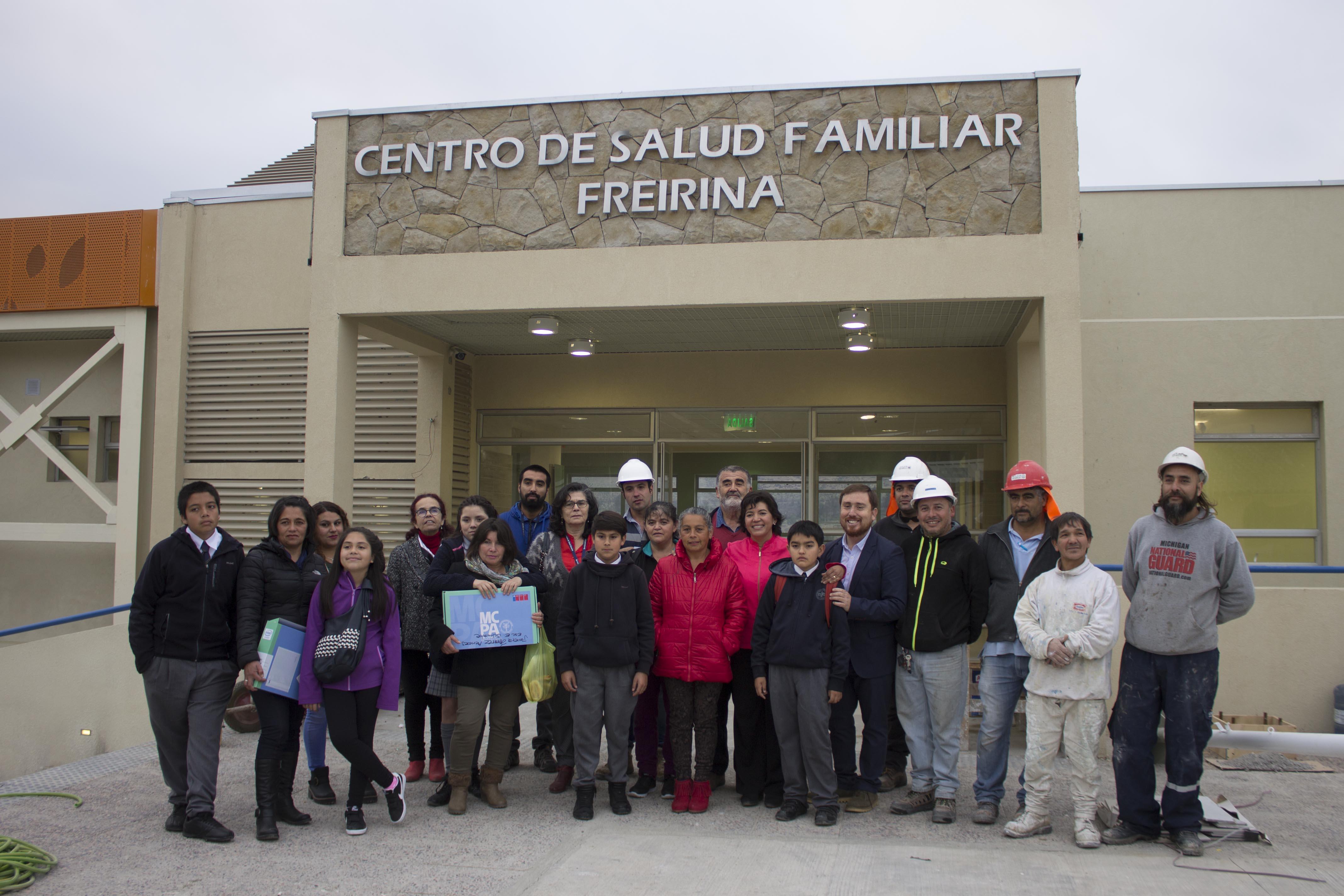 Cesfam Freirina firma convenio colaborativo con liceo Ramón Freire