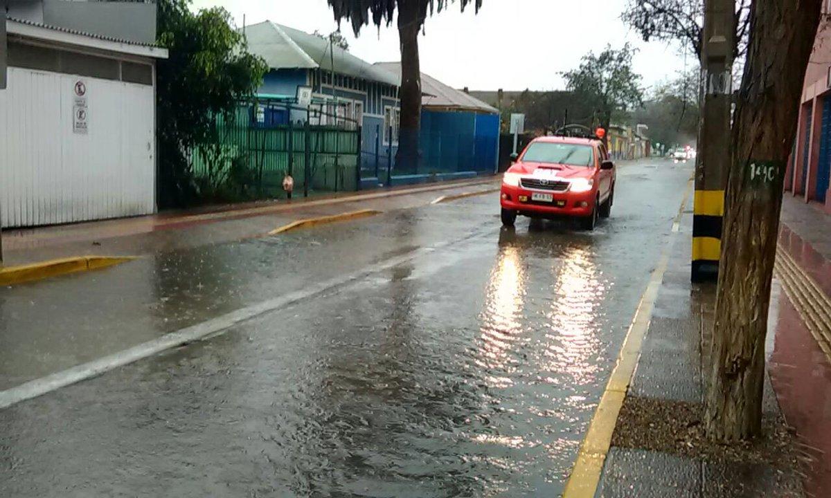 Conozca las cantidades de agua caída en la provincia del Huasco