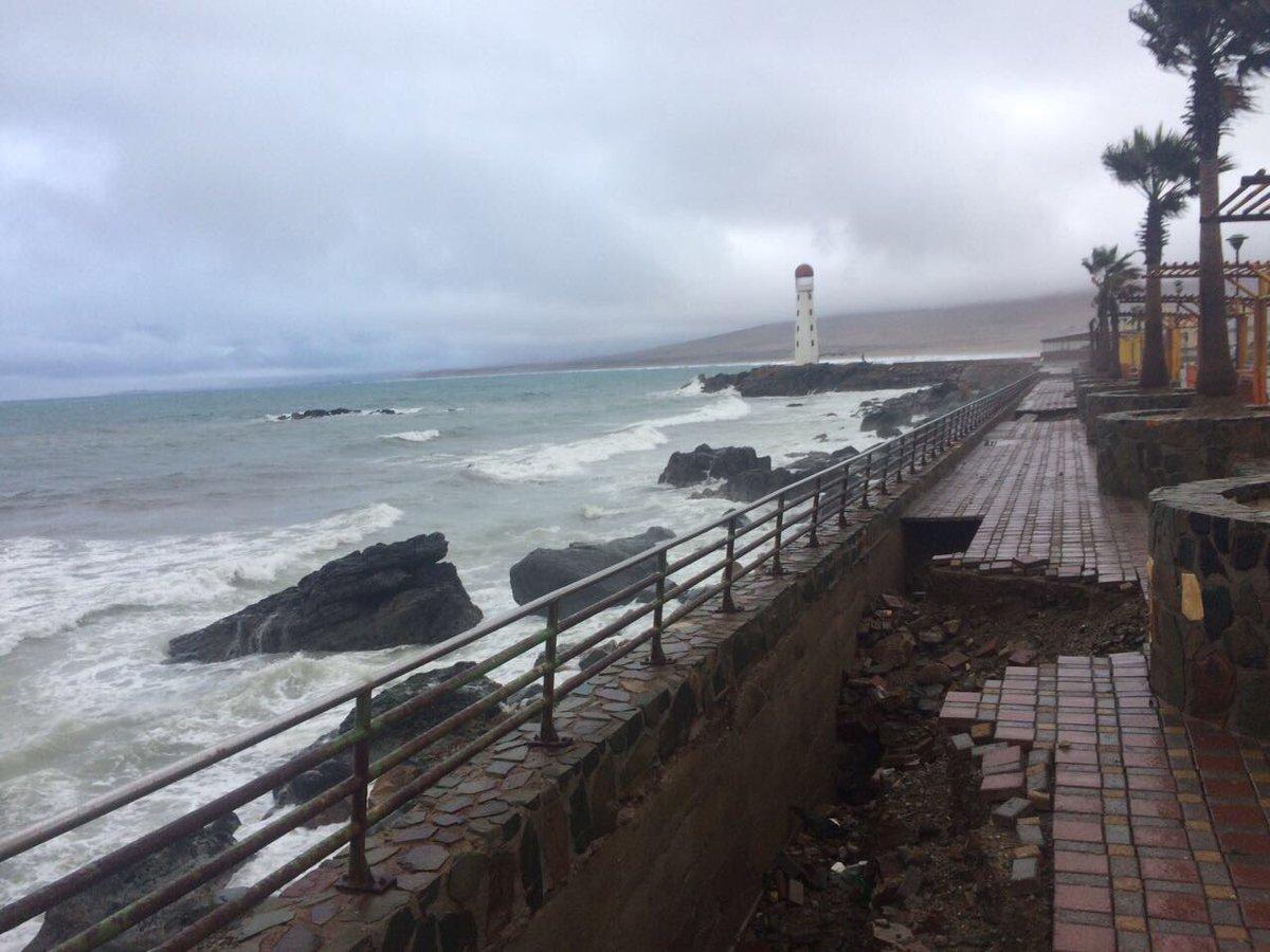 Alcalde Loyola y MOP comprometen reconstrucción de costanera tras intensas marejadas en Huasco