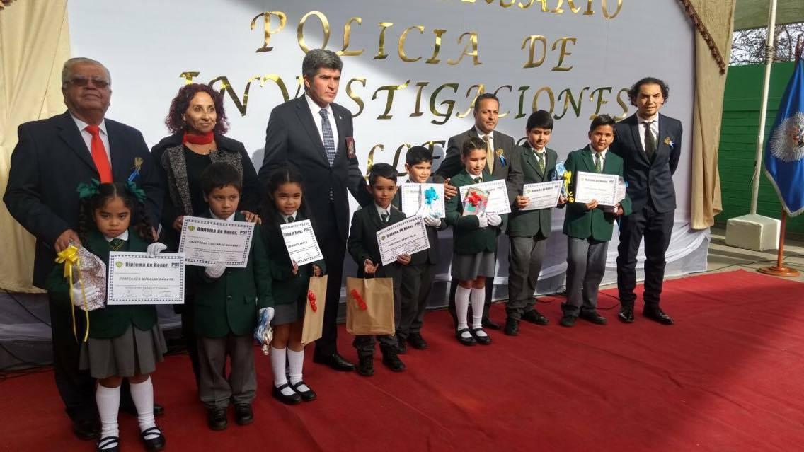 Vallenar conmemoró los 84 años de PDI en emotivo acto escolar