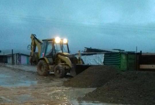 Freirina realiza positivo balance luego de las precipitaciones caídas en la provincia