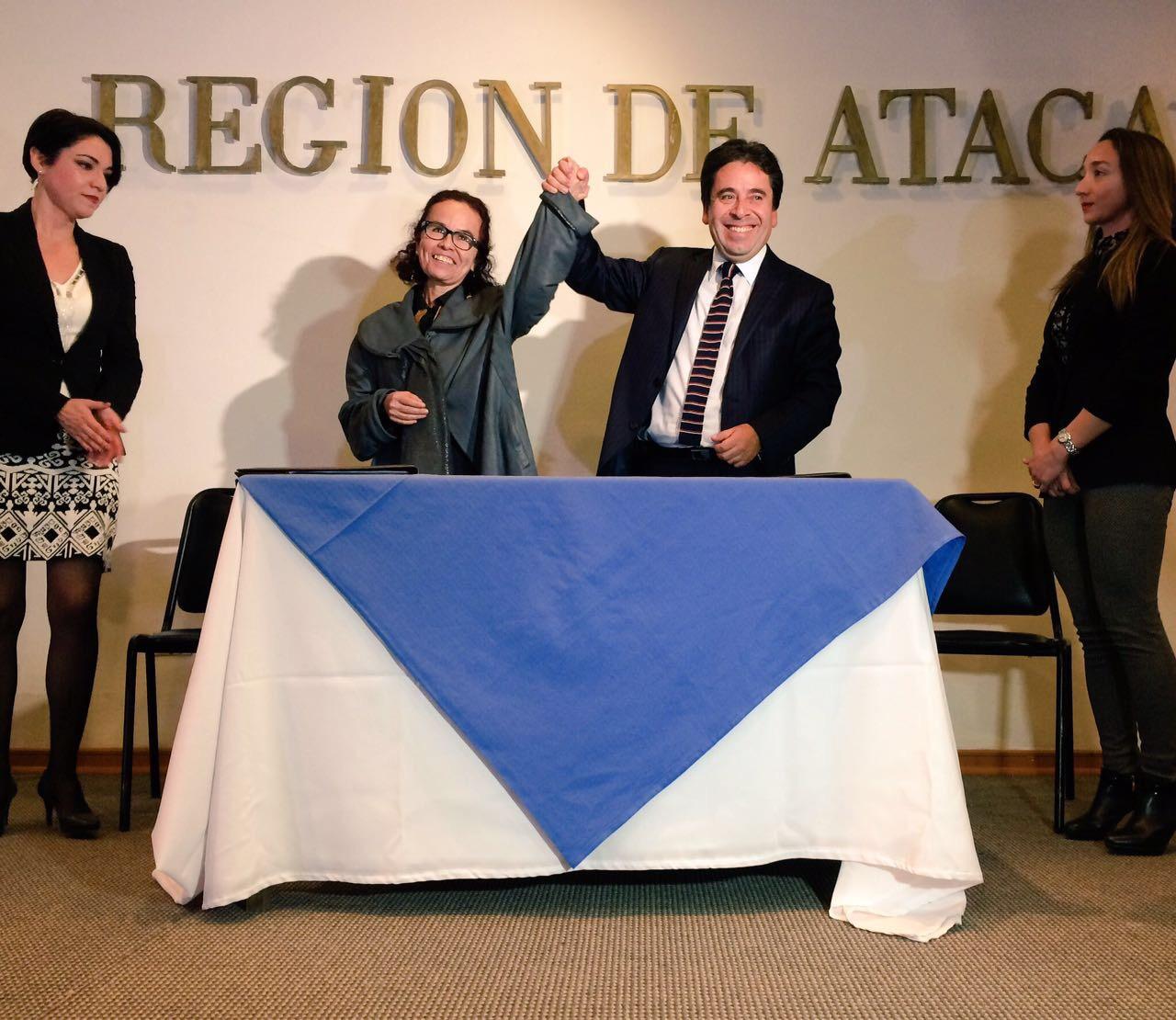 Alexandra Núñez Sorich asume formalmente como nueva Intendenta de la región de Atacama