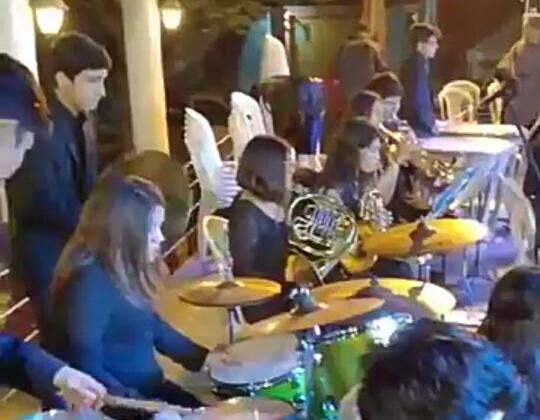 Orquesta atacameña destaca en gira musical por Paraguay