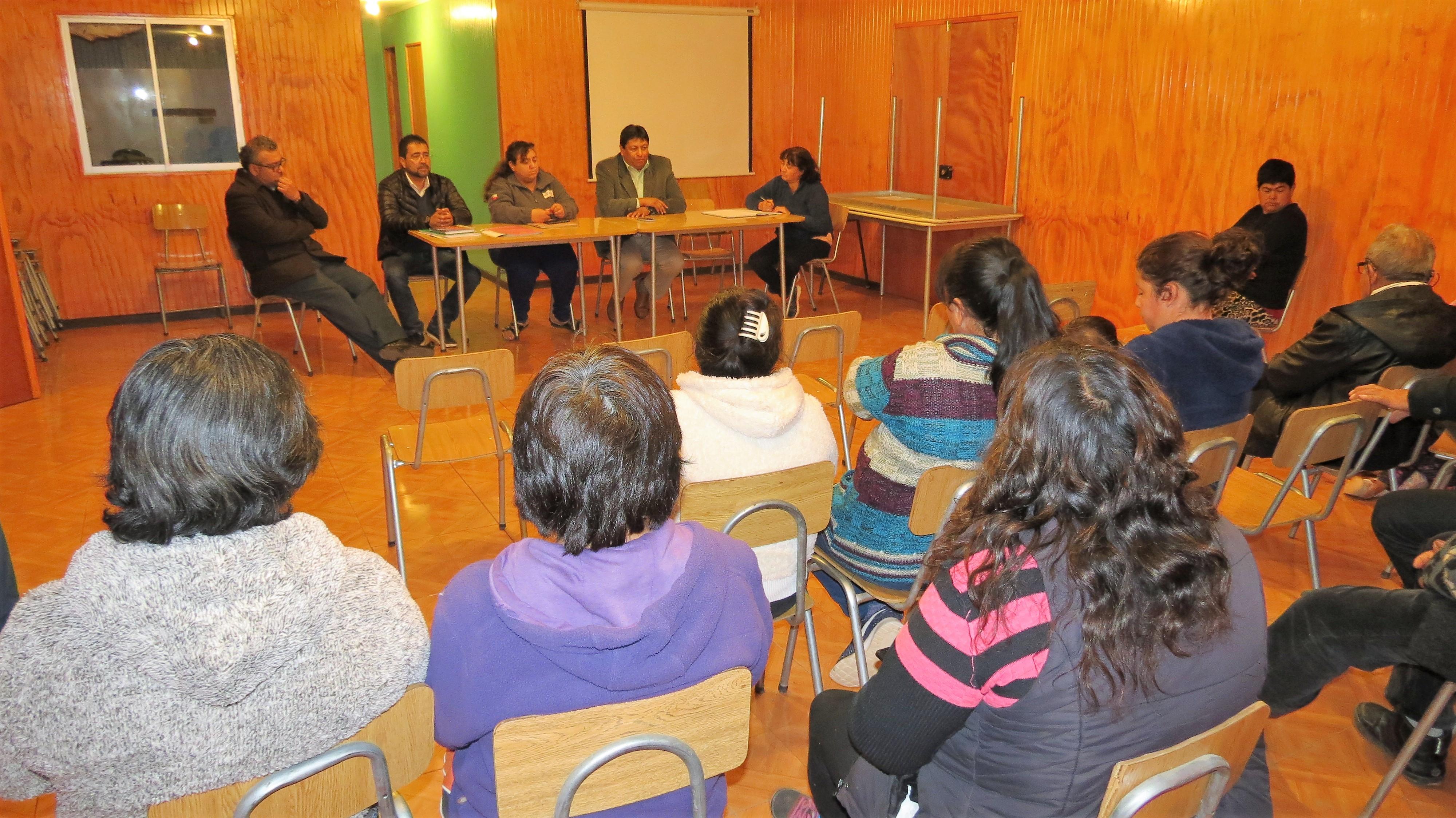 Vecinos de Cachiyuyo contarán con Soluciones Sanitarias definitivas
