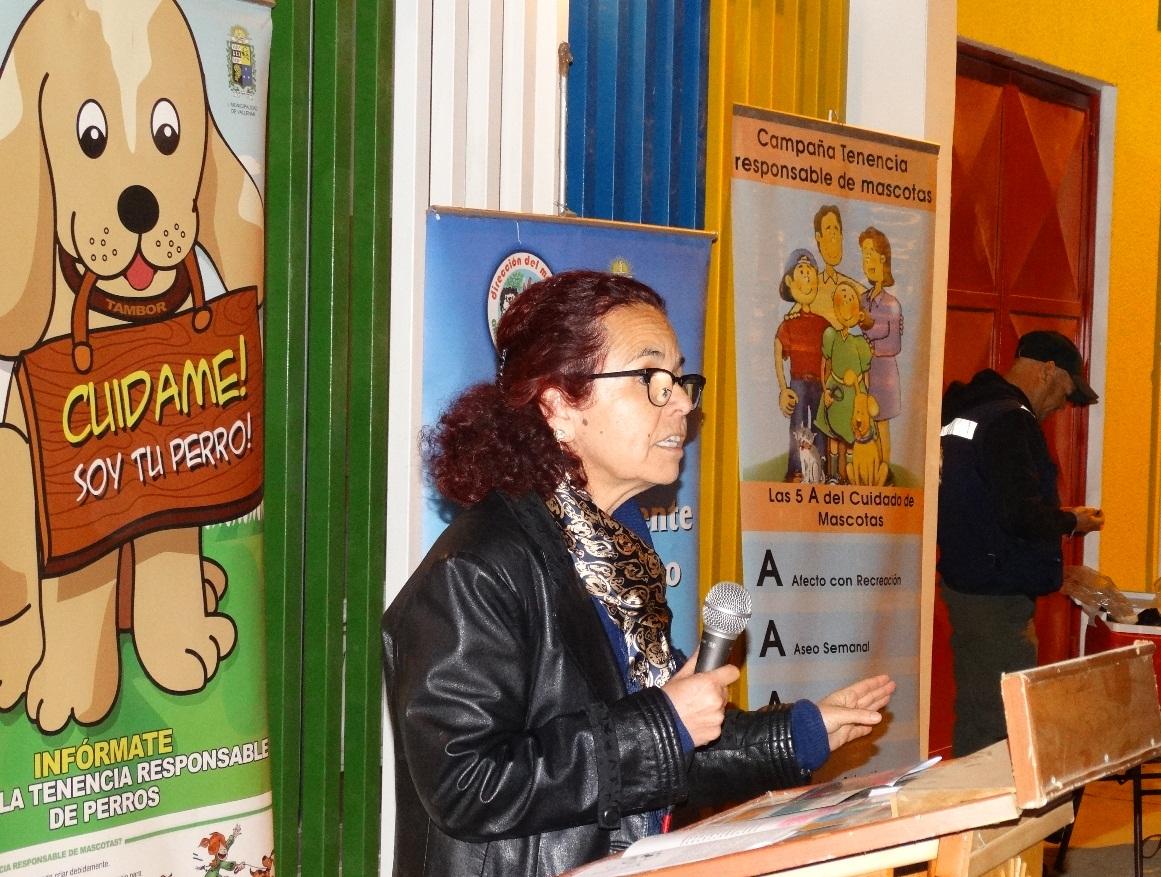 Gobernadora del Huasco destaca aprobación de proyecto sobre tenencia responsable de animales