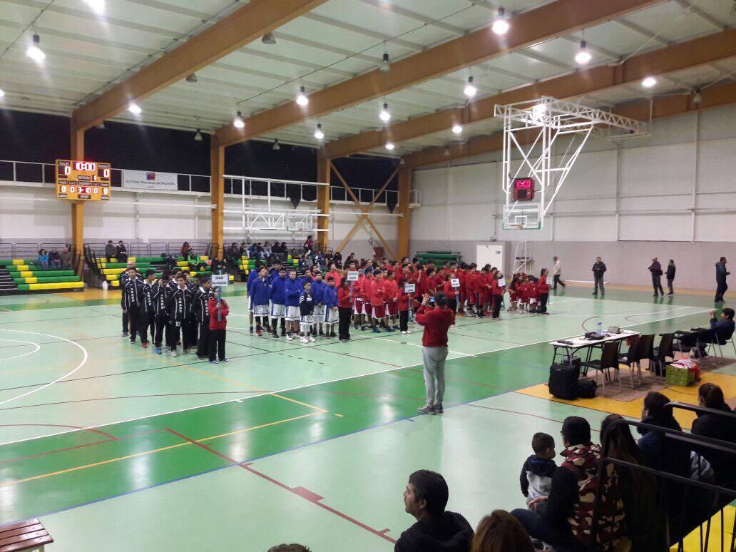 II Torneo Nacional de Básquetbol Infantil se juega en Vallenar