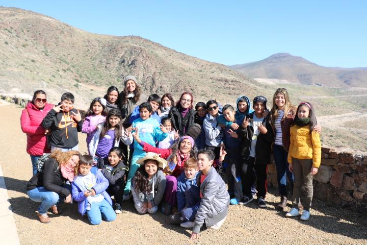 En Vallenar: Integrantes de programa CECREA interactúan con autoridades en actividades de terreno