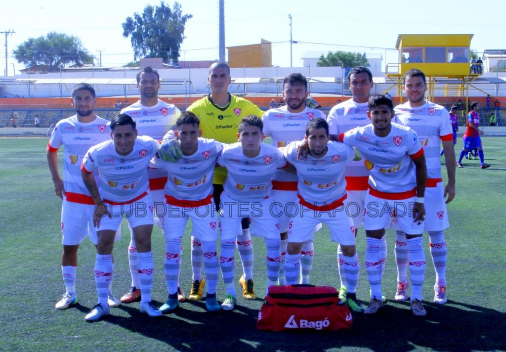 Deportes Copiapó recibe a San Luis de Quillota por Copa Chile en Vallenar