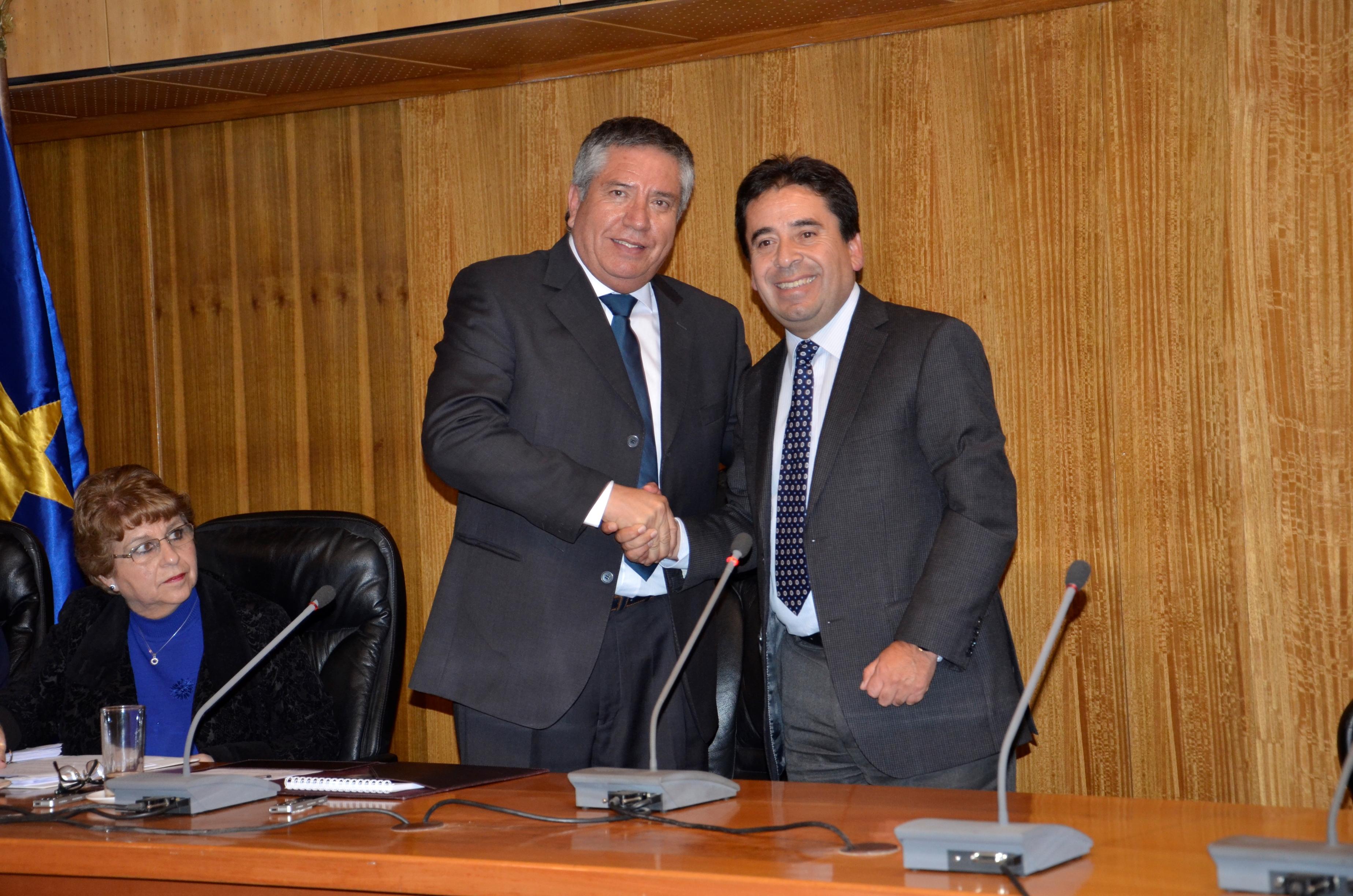 Consejero Regional Francisco Madero asume la presidencia del Consejo Regional Atacama