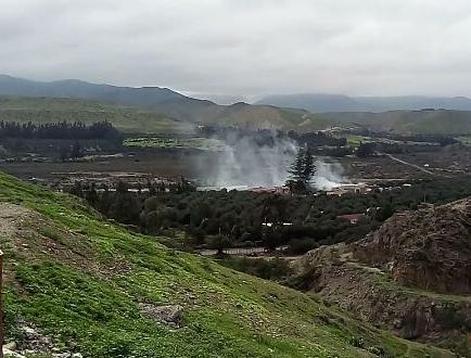 Explosión de fuegos artificiales en bodega municipal dejó un lesionado en Freirina
