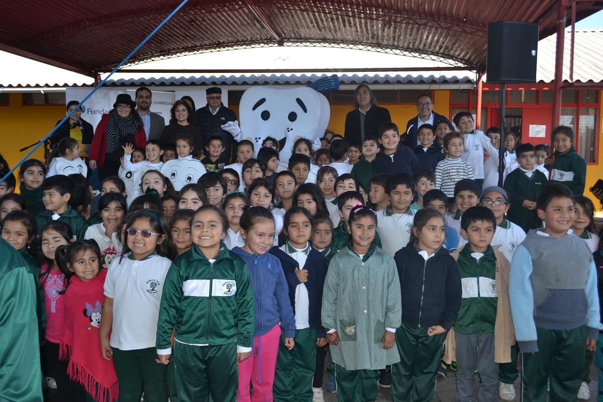 Guacolda promueve el cuidado de la sonrisa en niños de Huasco