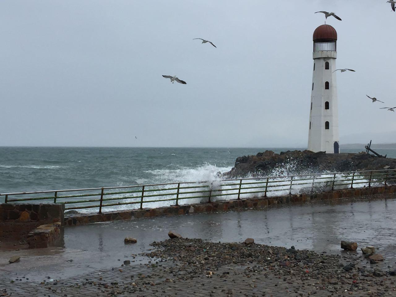 Advierten de marejadas en costa de la provincia
