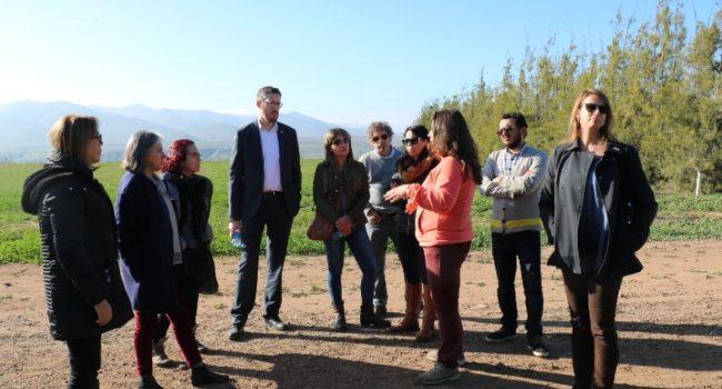 Delegación económica comercial de Israel analiza con autoridades importancia del recurso hídrico