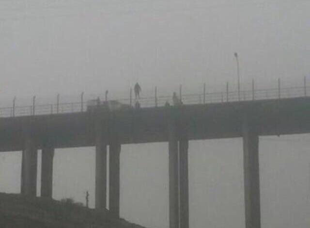 Sujeto fue rescatado luego de amenazar con lanzarse del puente Huasco en Vallenar