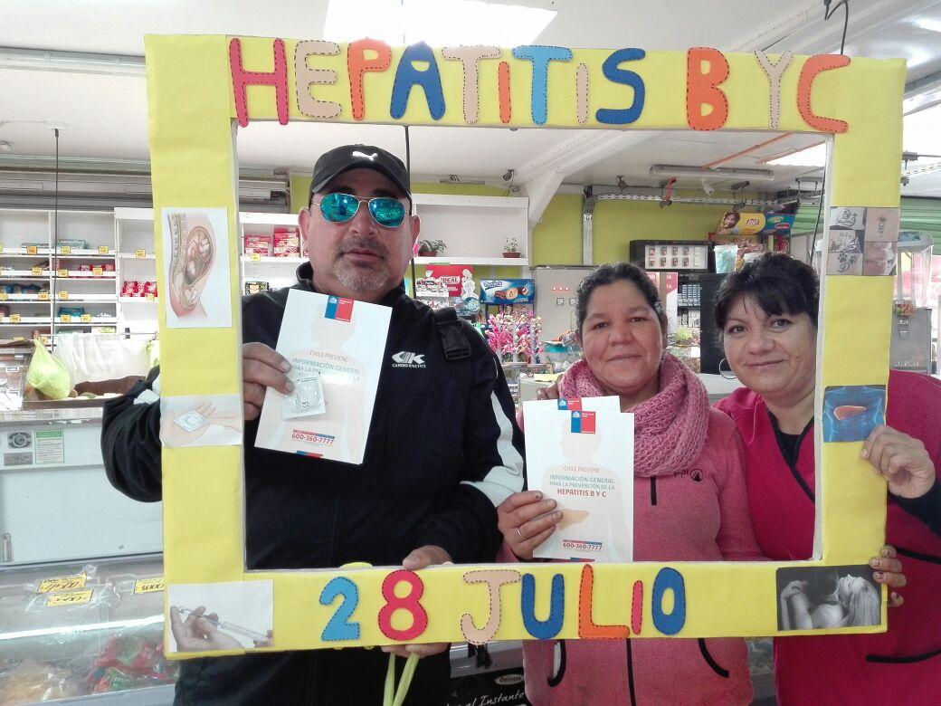 Con múltiples actividades de educación preventiva se conmemora Día mundial de la Hepatitis en Atacama