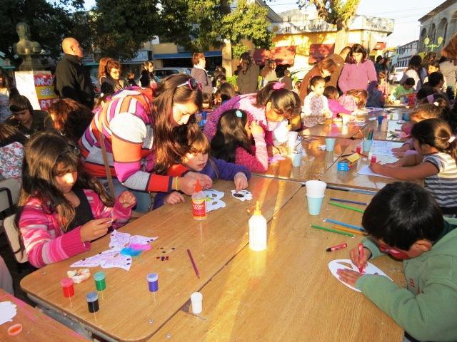 Este domingo se celebra en Día del Niño en plaza de Vallenar