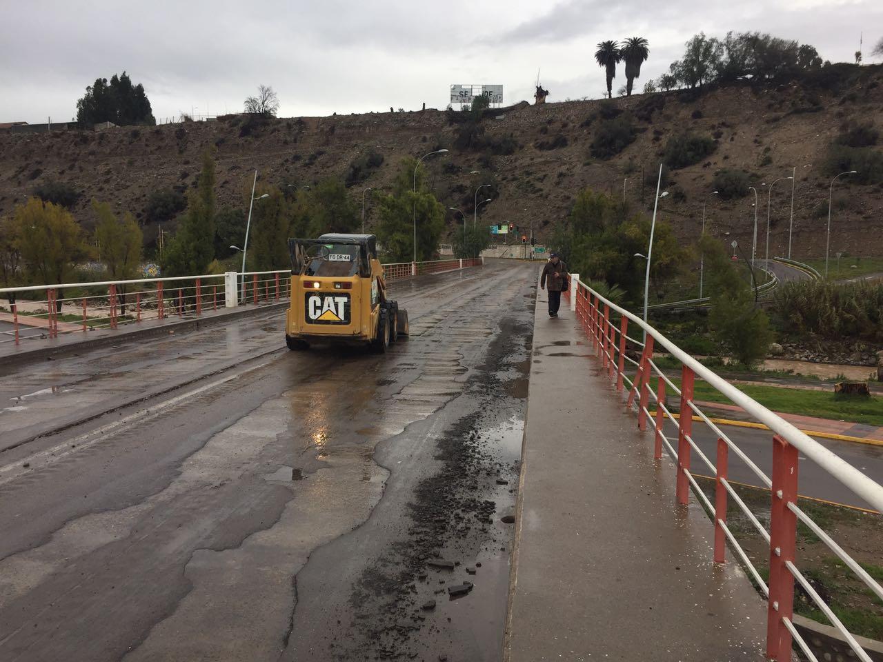 Vallenar presentó diversos problemas ante precipitaciones