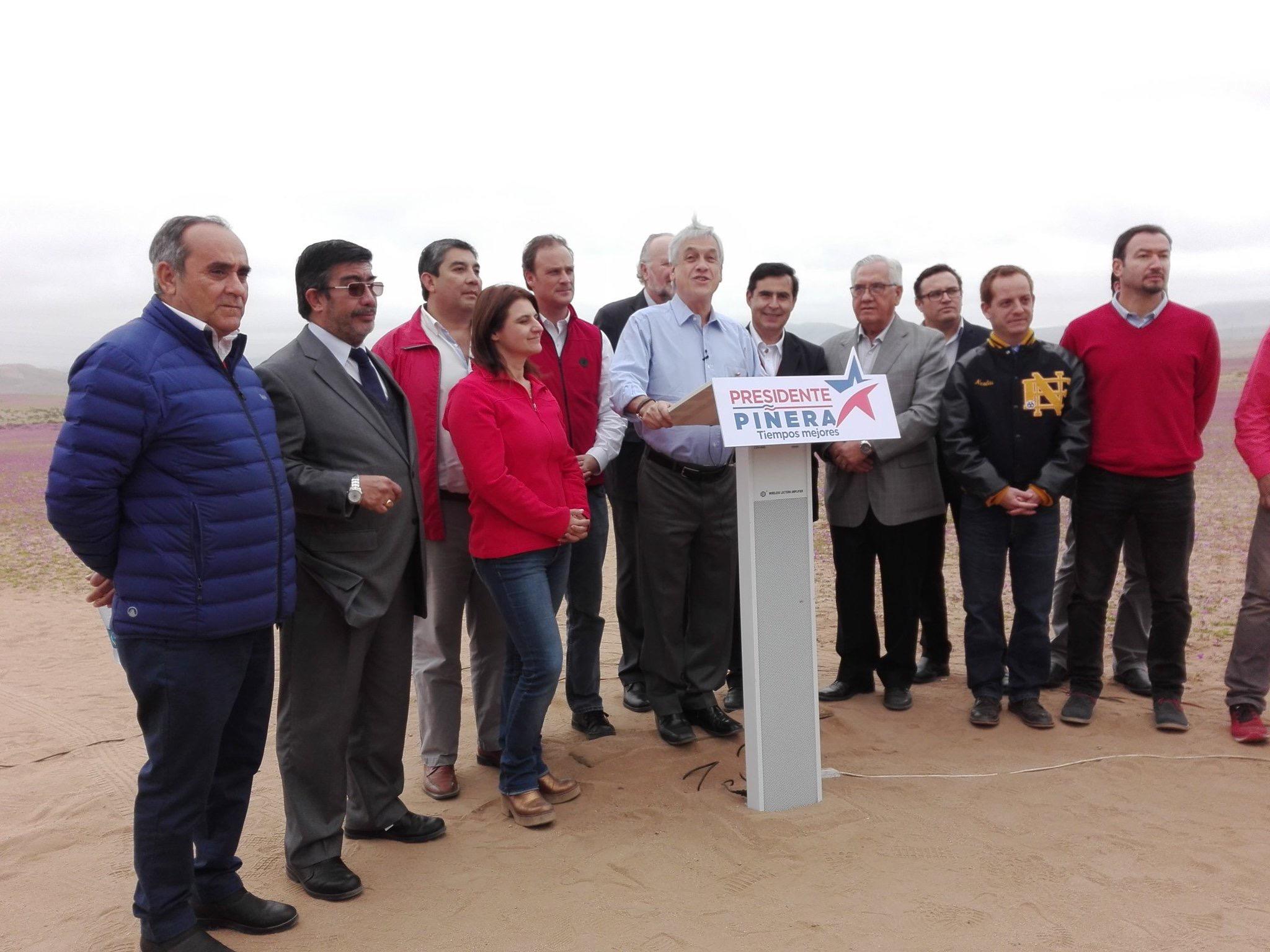 """Piñera visitó la región: """"Estamos preparando un plan de desarrollo para Atacama"""""""