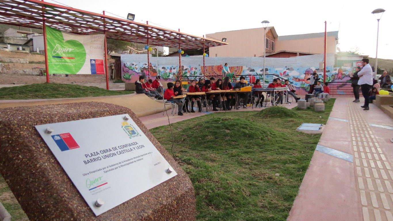 Vallenar cuenta con dos nuevos espacios públicos para uso de la comunidad