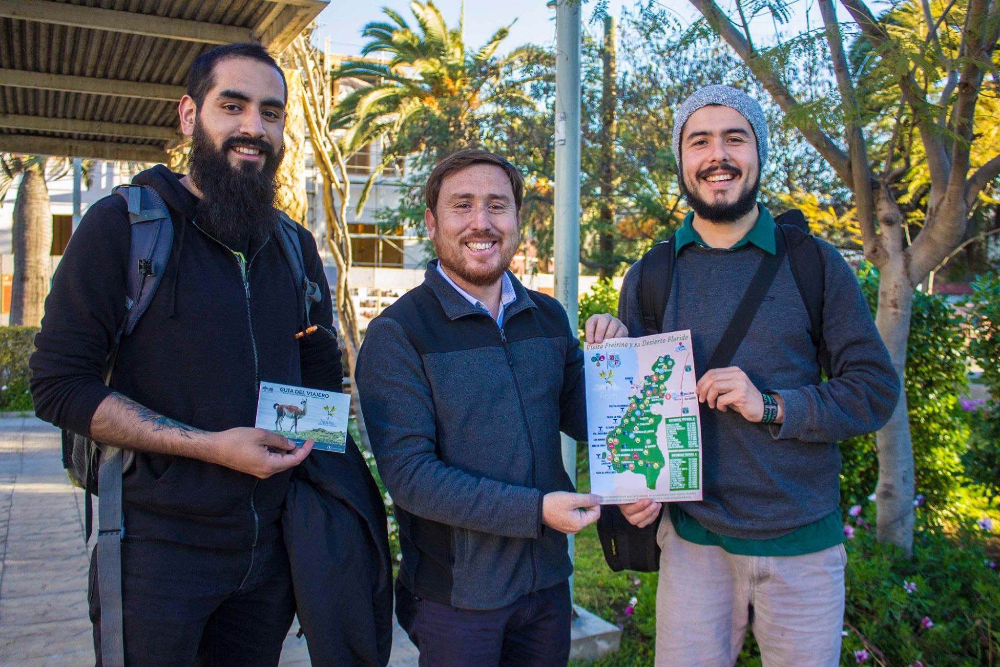 Freirina lo hizo otra vez: Promociona Desierto Florido e informa a comerciantes cómo recibir a turistas