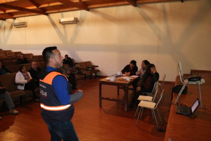 Dan a conocer plan de mitigación de riesgo y avances en obras en Alto del Carmen