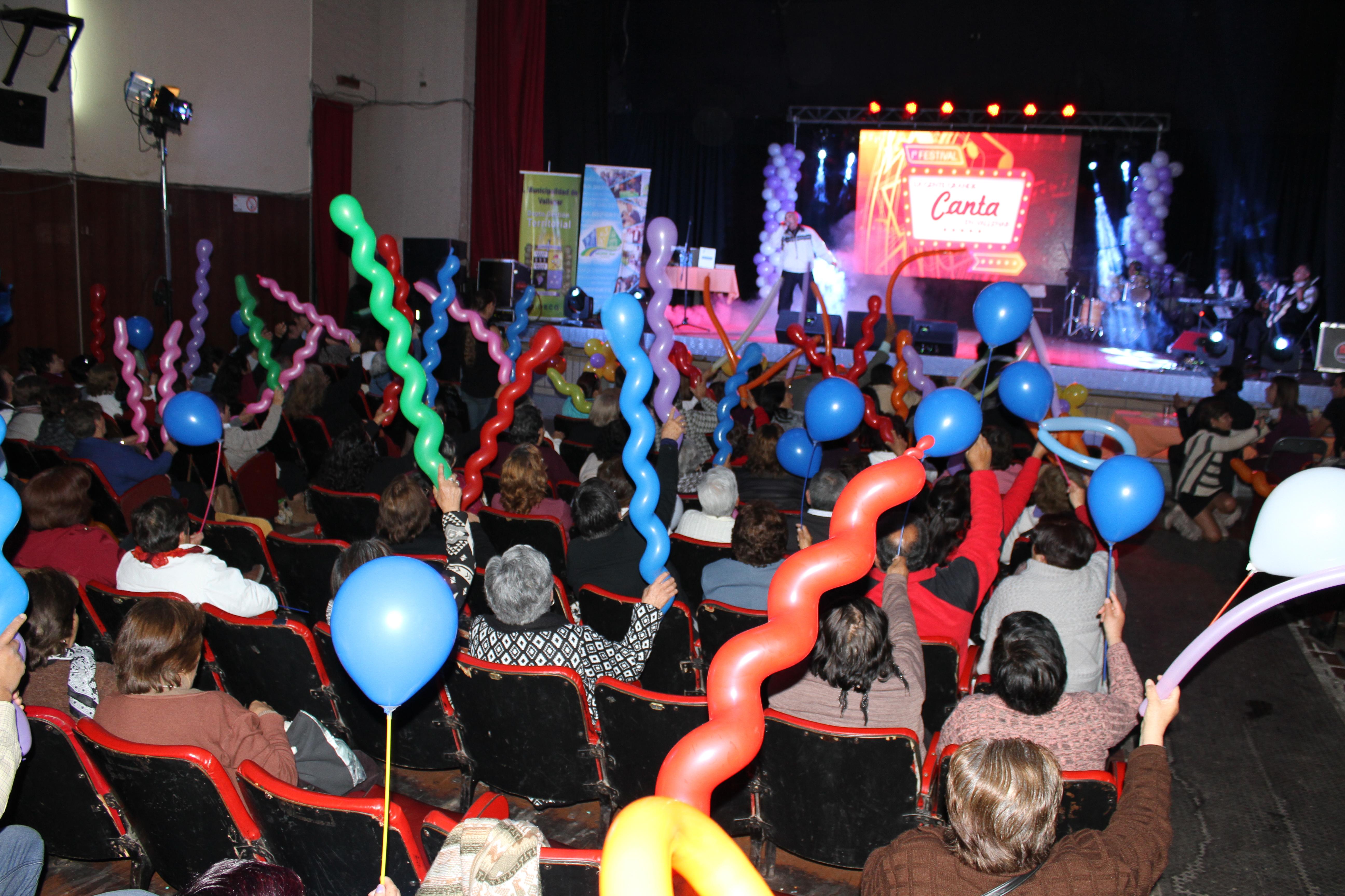 Vallenar y Chañaral se quedaron con el festival del Adulto Mayor