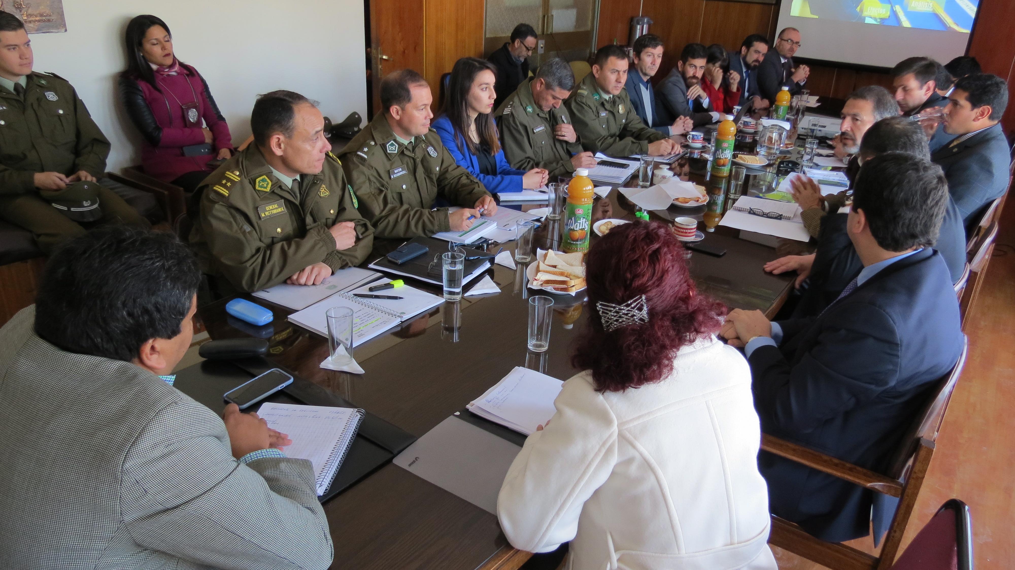Fortalecen plan de acción en materia de seguridad pública en Vallenar