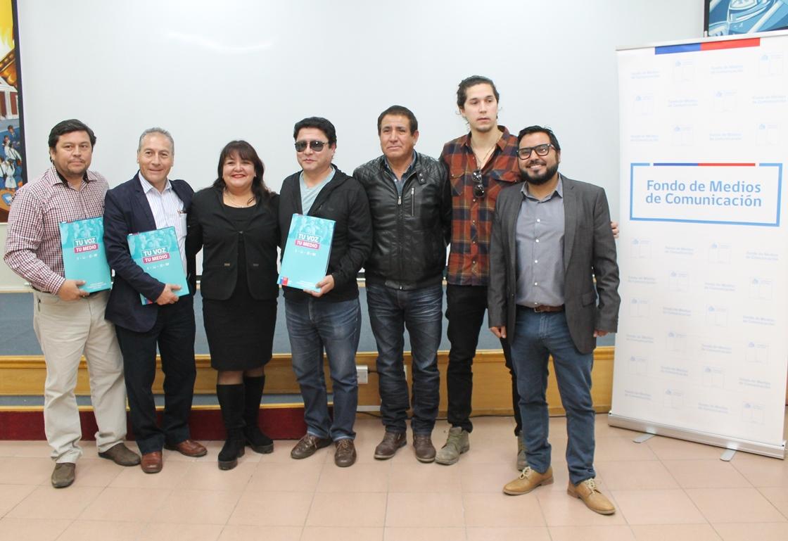 Fondo de Medios 2017 benefició a 30 proyectos de Atacama