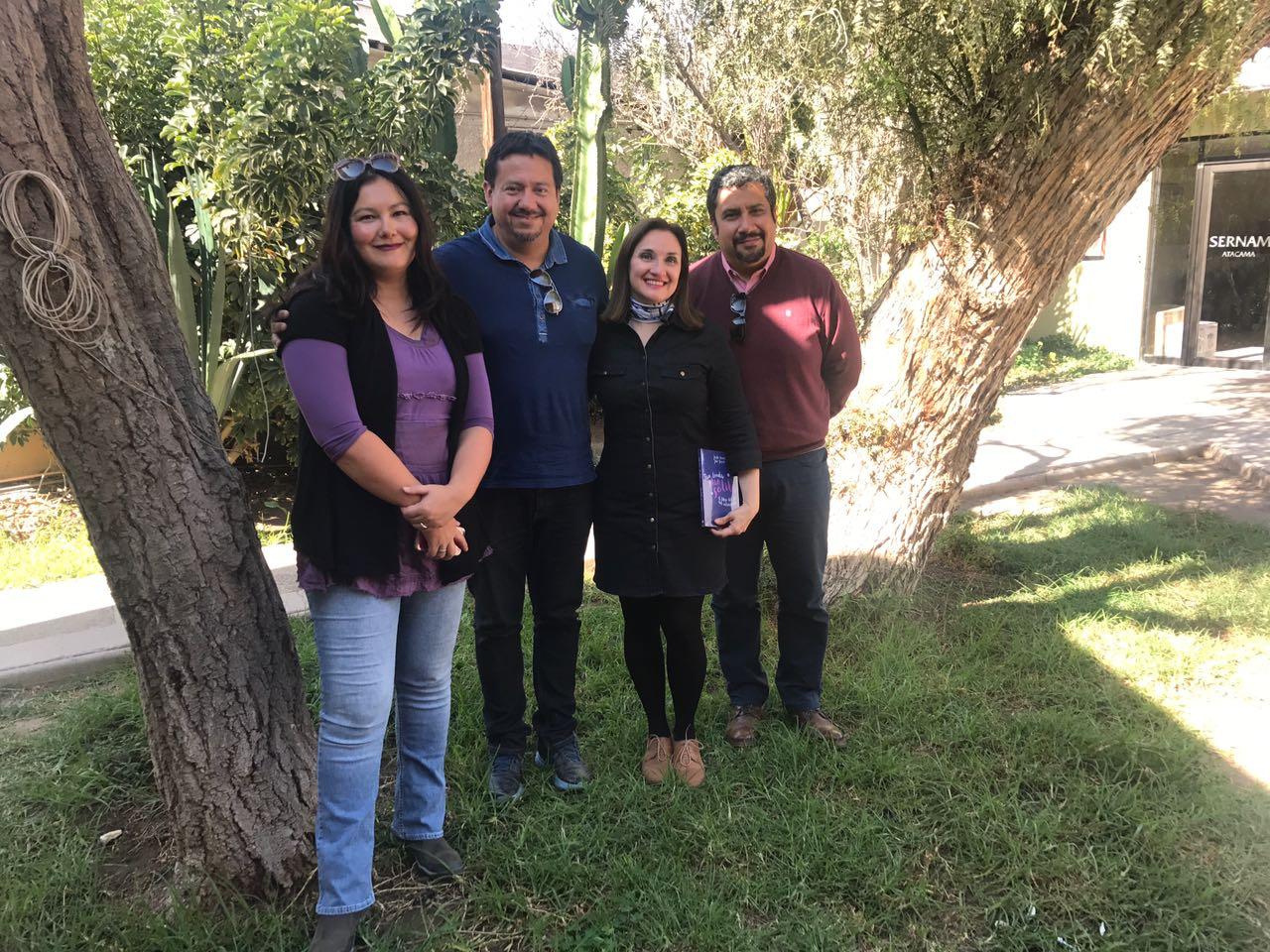 Seremi de la Mujer de Atacama recibió saludo de la Mesa Directiva del Colegio de Periodistas