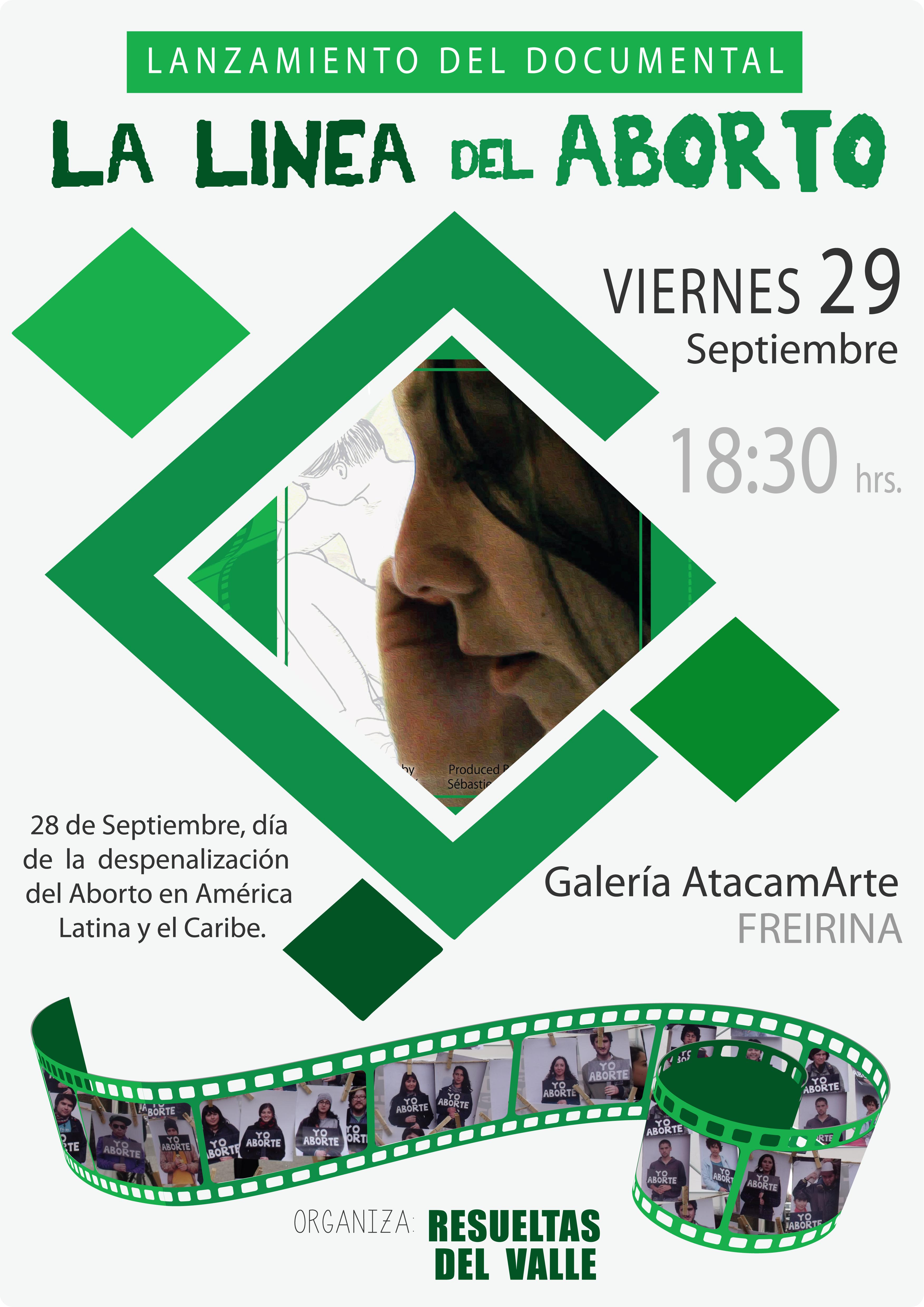 Este jueves presentarán en Vallenar documental sobre el aborto