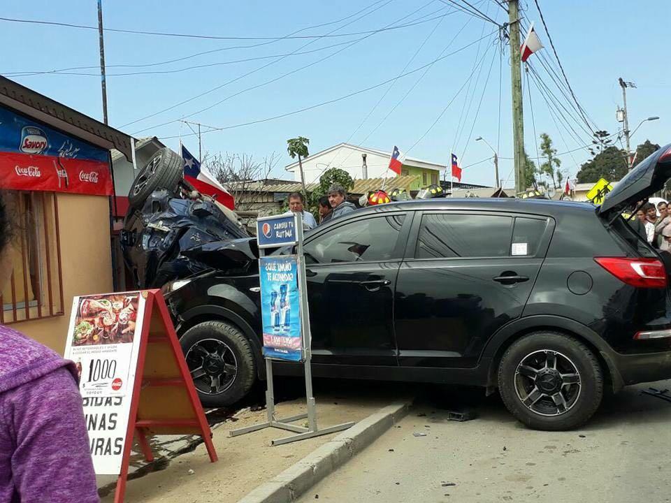Detienen a conductor que protagonizó accidente en Huasco Bajo