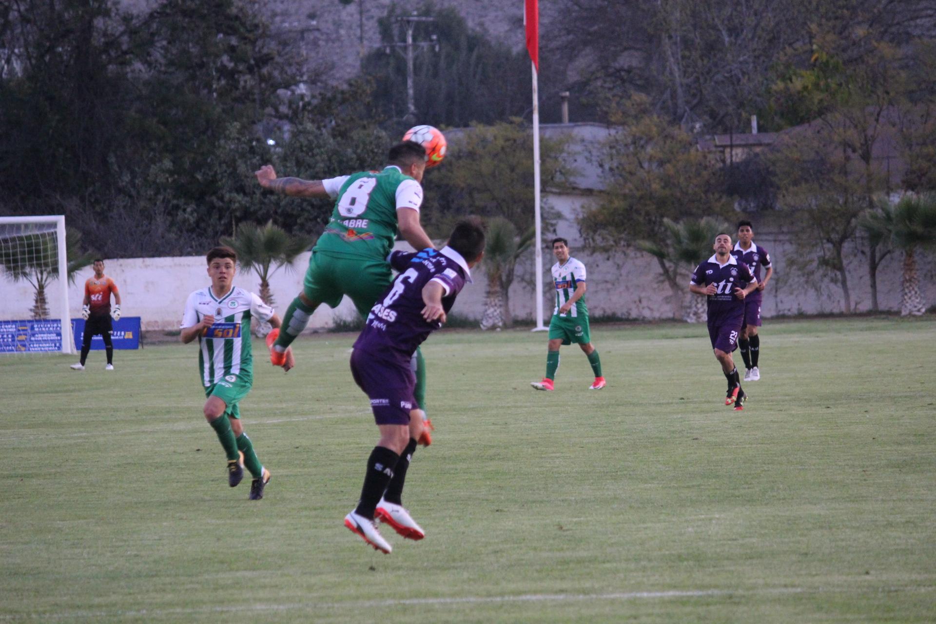 Deportes Vallenar sigue puntero: empató con San Antonio Unido de visita