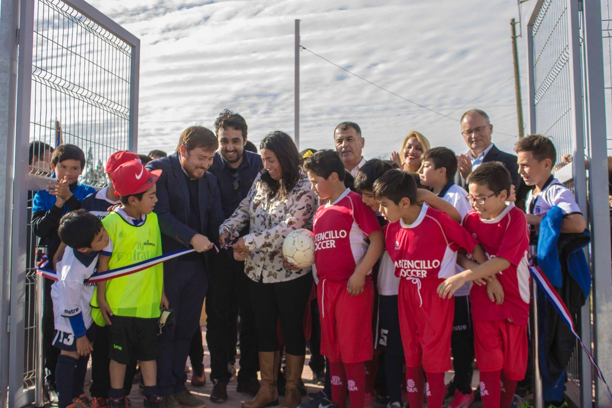 Freirina cuenta con nuevos espacios deportivos en la localidad de Maitencillo