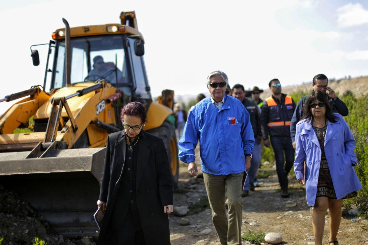 Ministro (s) de Agricultura presenta en Vallenar estrategia para combatir incendios forestales