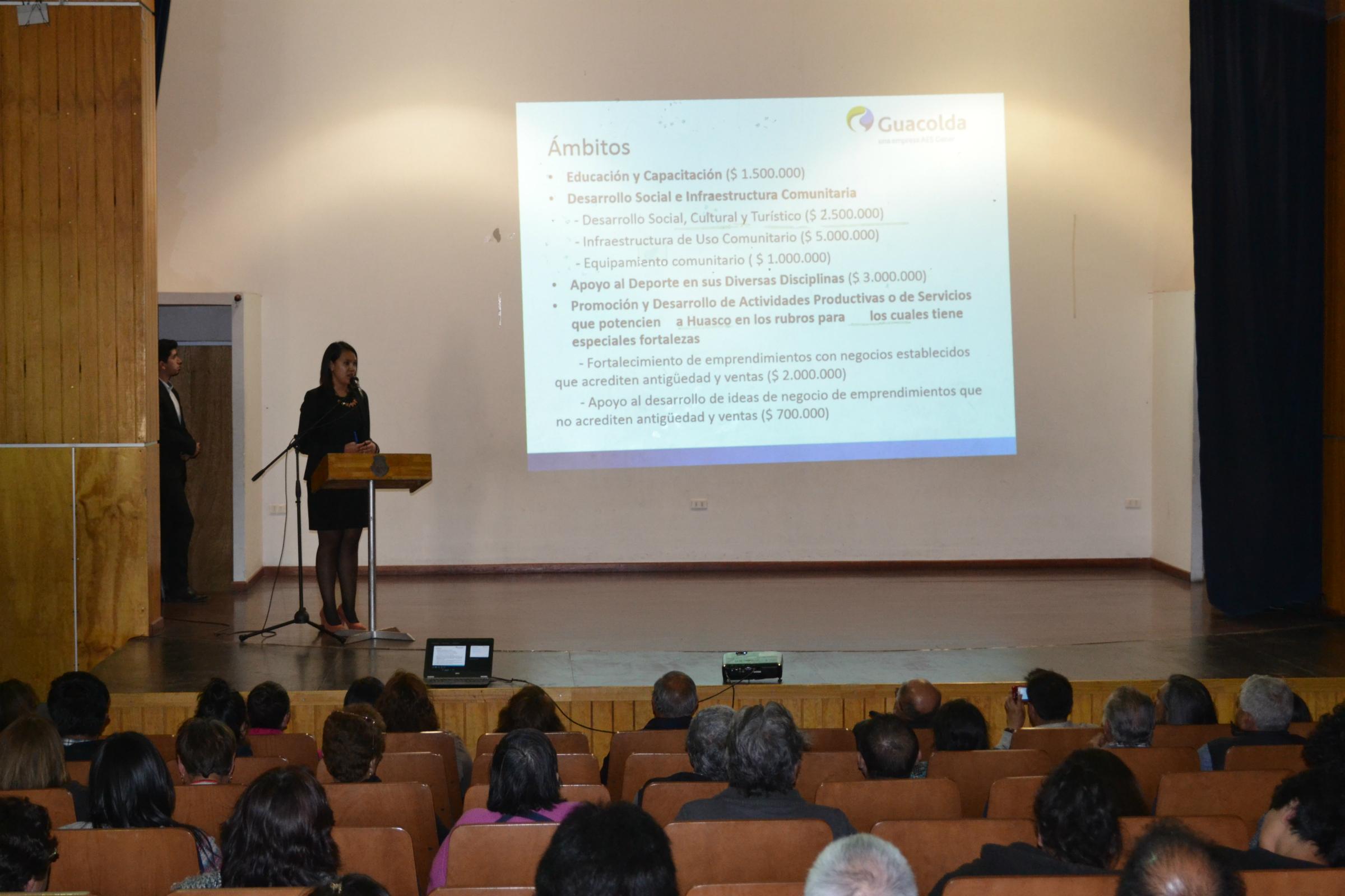 Guacolda repartirá cerca de $80 millones para  proyectos de organizaciones y microempresarios de Huasco