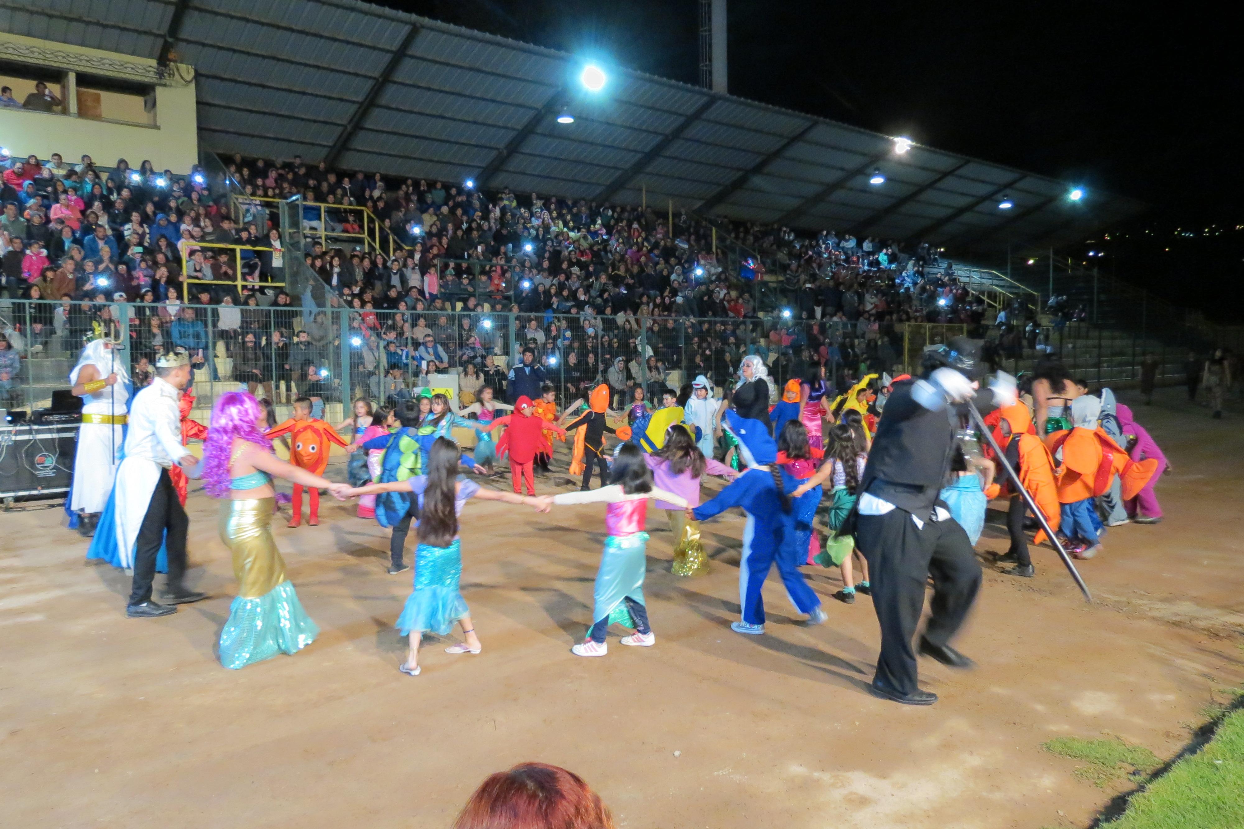 Escuela Gregorio Castillo Marín se llevó el primer lugar del corso de Vallenar