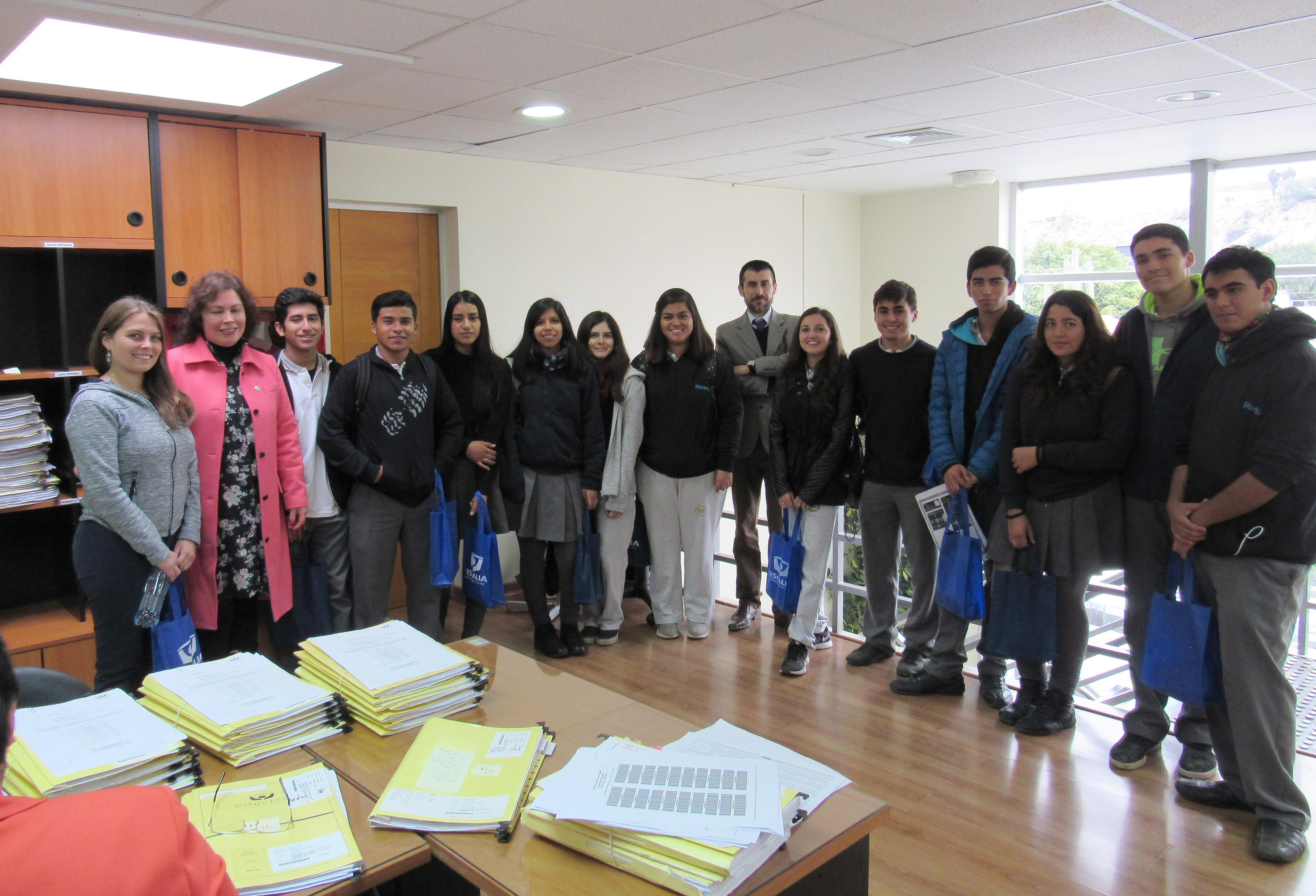 Estudiantes de Vallenar conocieron por dentro y en detalle función de la Fiscalía