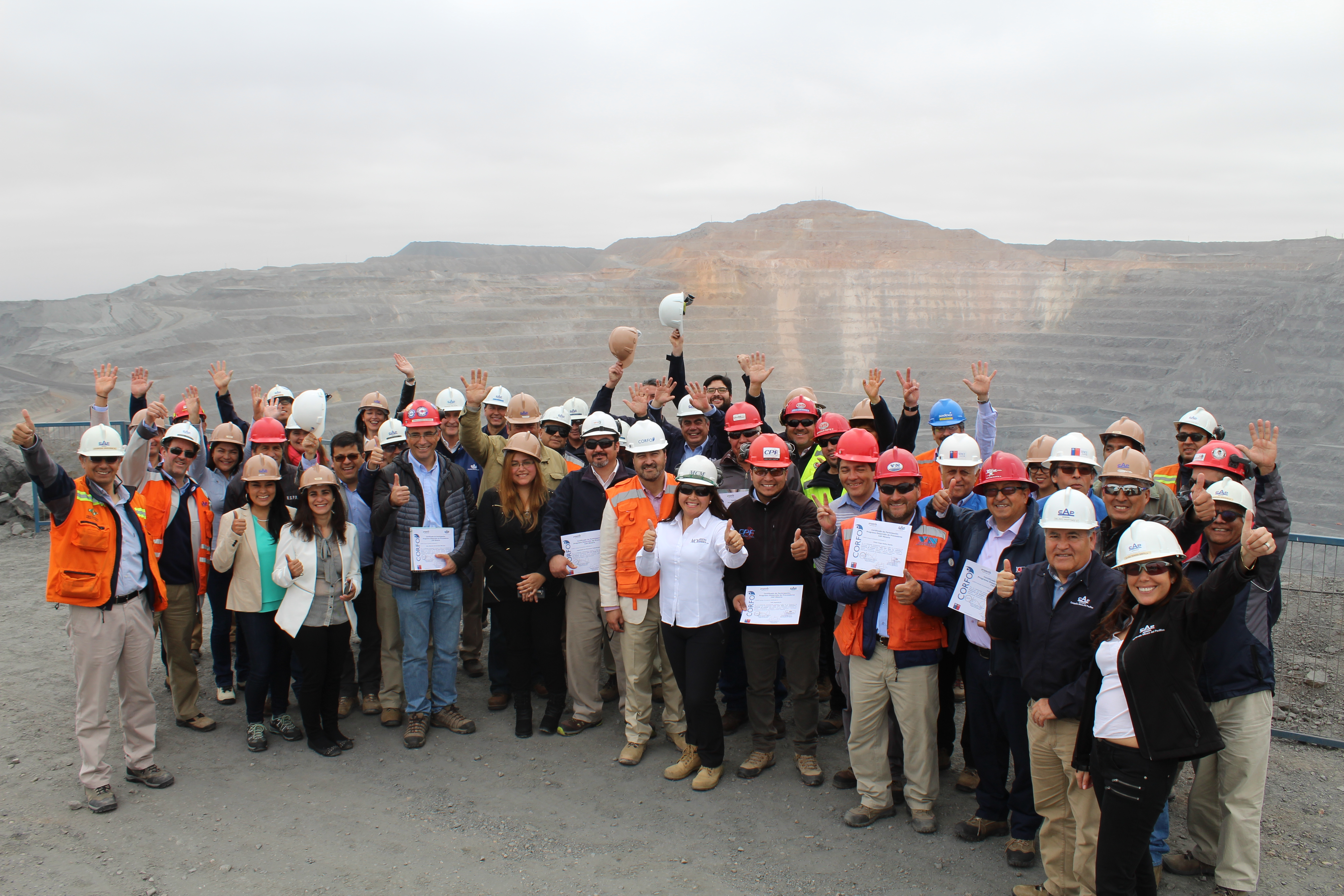 Finaliza Programa de Desarrollo de Proveedores Valle del Huasco de CAP Minería