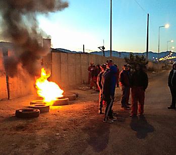 Nuevas manifestaciones por deudas con empresa Inter Chile