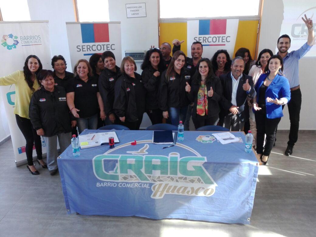 Barrio Comercial Craig de Huasco expuso avances y proyecta nuevos desafíos junto al Gobierno