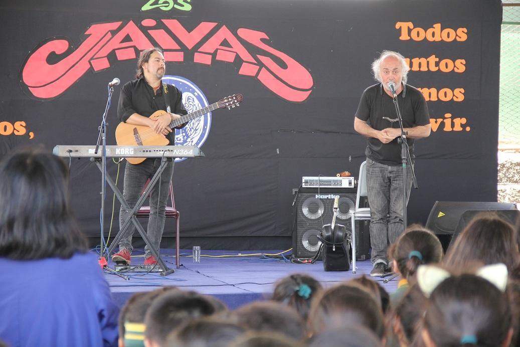 Integrantes de Los Jaivas se presentaron en El Tránsito y San Félix