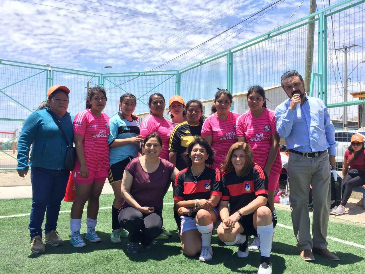 Scarleth Cárdenas arribó a la Región de Atacama y protagonizó Cuadrangular en apoyo a la aspirante al Senado Yasna Provoste (DC)