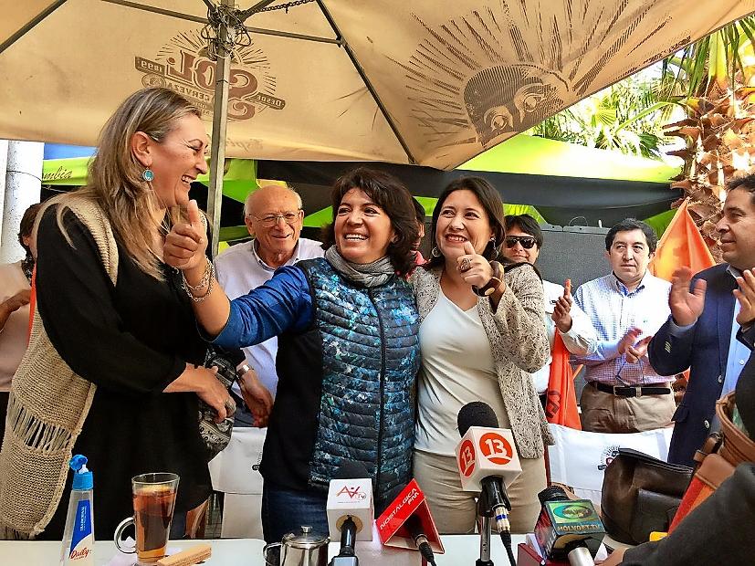 """Nueva senadora Provoste: """"La única forma de derrotar a la derecha es con la unidad de centro izquierda"""""""