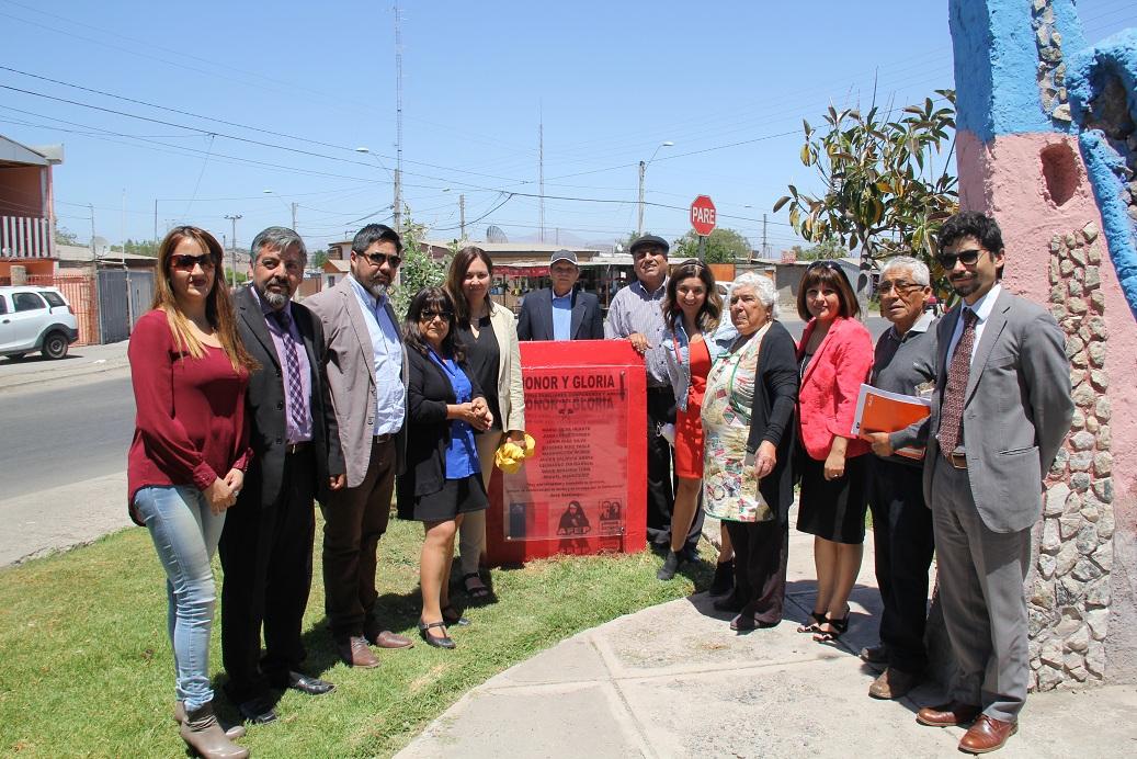 Placa en Vallenar recuerda a Ejecutados Políticos y Detenidos Desparecidos