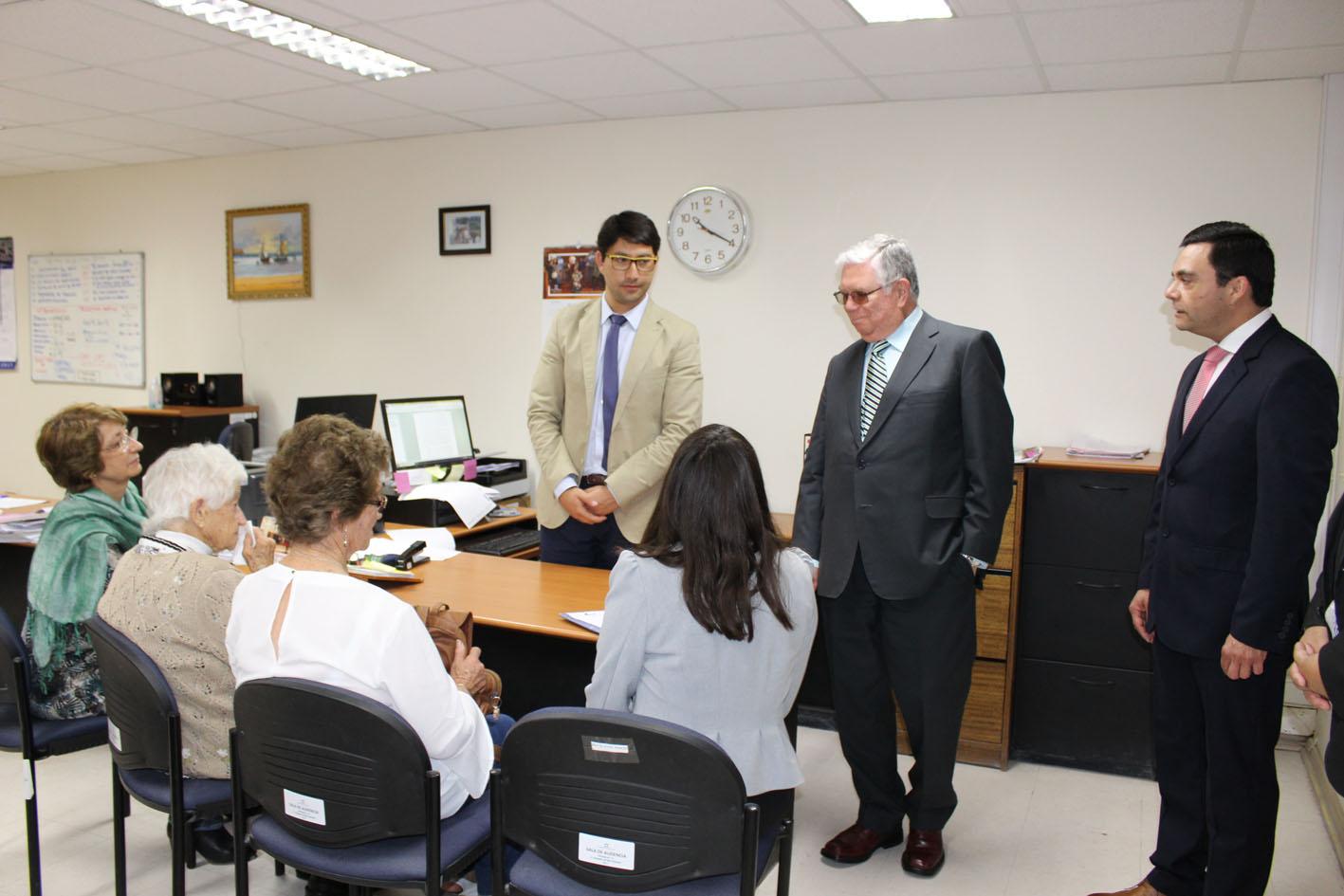 Ministro de la Corte Suprema Lamberto Cisternas visita Vallenar y Freirina