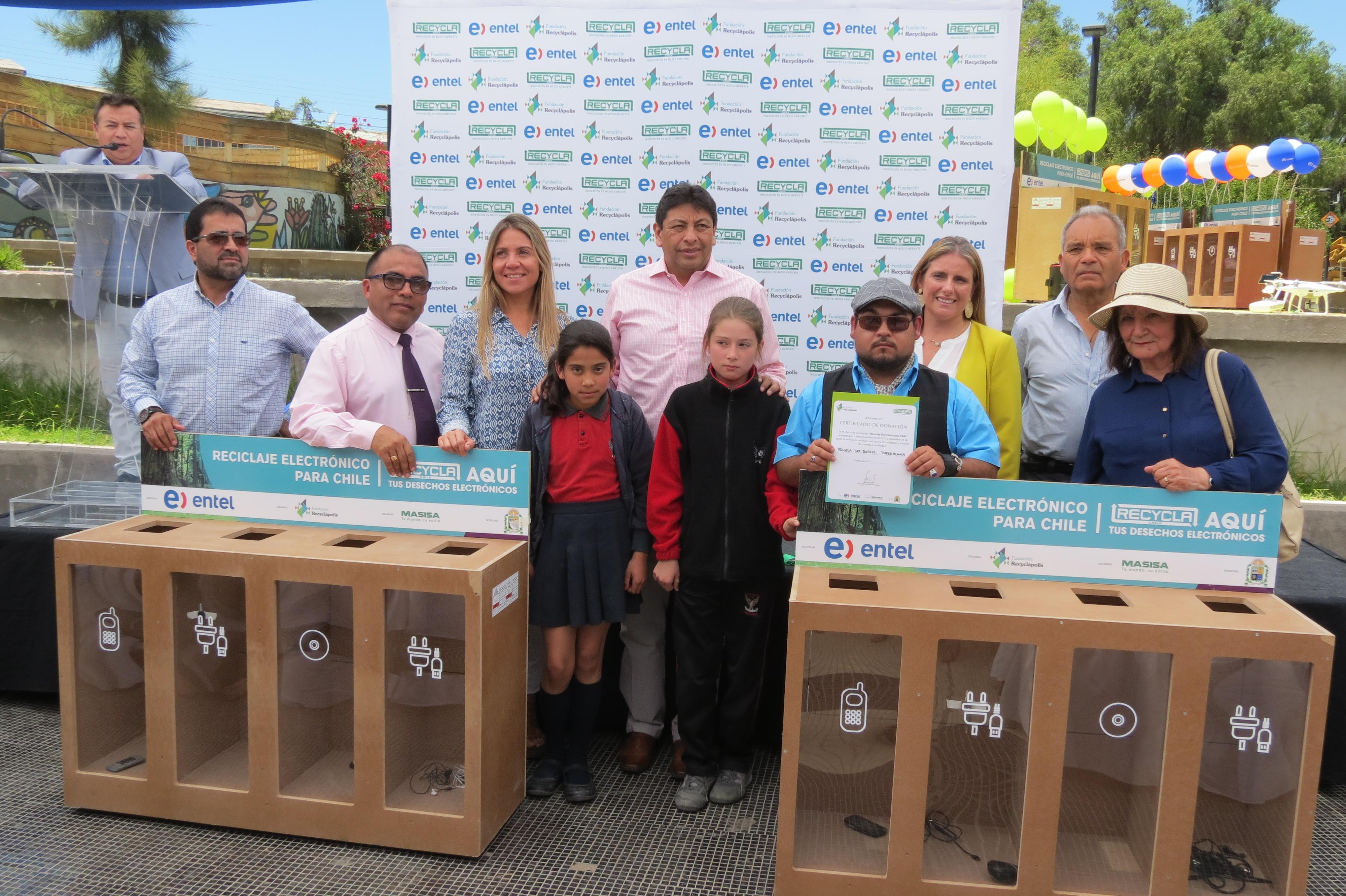 Instalarán 70 contenedores de reciclaje electrónico en Vallenar